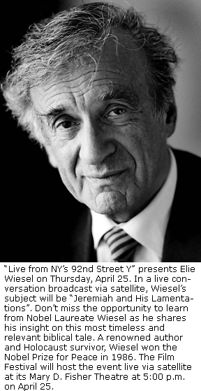 how did elie wiesel and francois mauriac meet