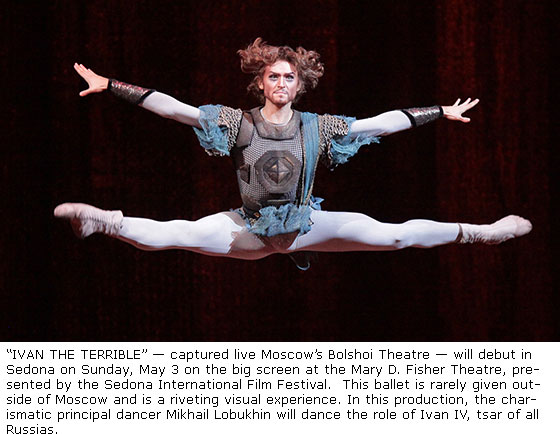 Film festival hosts ballet in cinema ivan the terrible on may 3