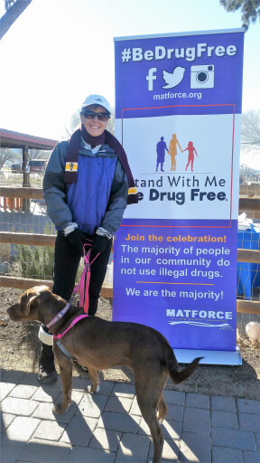 Yavapai County Attorney Sheila celebrates a healthy lifestyle at the annual Walk event.